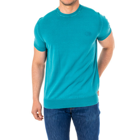 Leon Short Sleeve T-Shirt // Turquoise Green (Small)