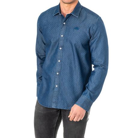 Eric Long Sleeve Shirt // Blue (Small)