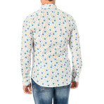 Jerry Long Sleeve Shirt // Multicolor (X-Large)