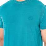 Leon Short Sleeve T-Shirt // Turquoise Green (Medium)