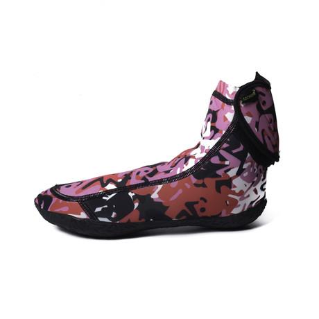 Sockwa // G-Hi Minimal Beach Sneaker // Camo Pink (Men's US 4)