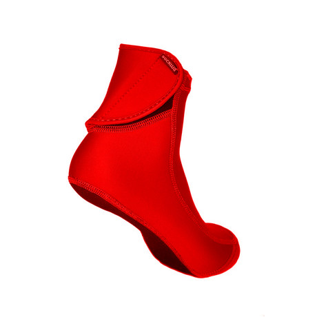 Sockwa // Playa Hi Beach Socks // Red (US: M4)