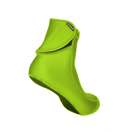 Sockwa // Playa Hi Beach Socks // Lime (US: M4)
