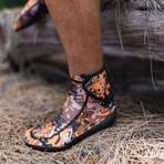 Sockwa // G-Hi Minimal Beach Sneaker // Camo Orange (US: M4)