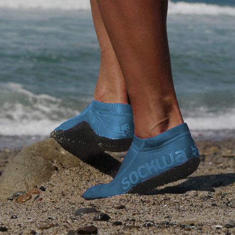 Sockwa // G2 Shoe // Blue (US: M4)
