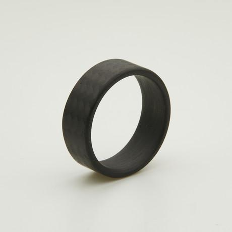Carbon Fiber Twill Matte Ring (5)