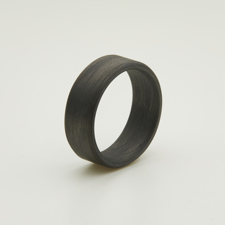 Carbon Fiber Uni-Directional Black Ring (5)