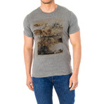 Zach Short Sleeve T-Shirt // Gray (Large)