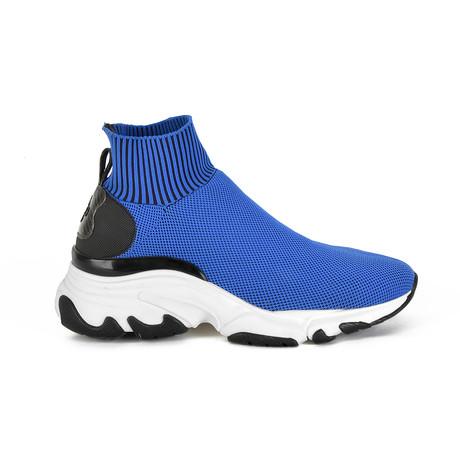 Ryder Sock Sneaker // Blue (Euro: 40)