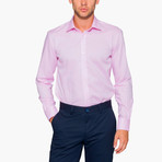 Jonathon Oxford Slim Fit Shirt // Pink (L)