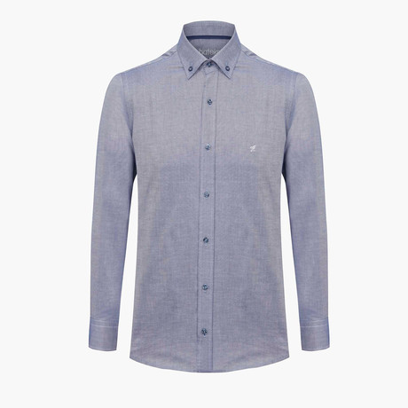 Alexander Oxford Shirt // Navy (L)
