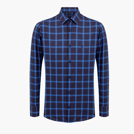 Michael Slim Fit Shirt // Blue (L)