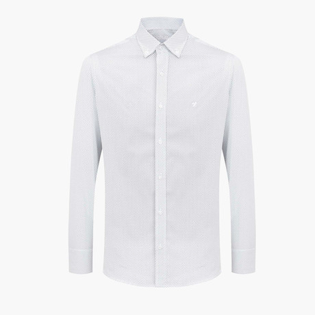 Gordon Slim Fit Shirt // White (L)