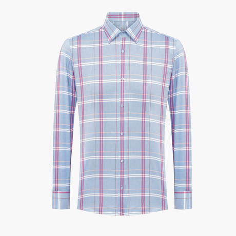 Jeremy Slim Fit Shirt // Blue (L)