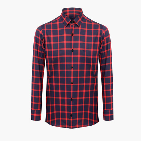 Michael Slim Fit Shirt // Red (L)