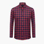 Michael Slim Fit Shirt // Red (L)