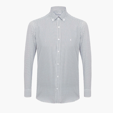 Gregory Slim Fit Shirt // White (L)