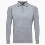 Wilson Woolen Polo Sweater // Gray (2XL)