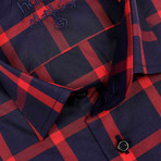 Michael Slim Fit Shirt // Red (S)