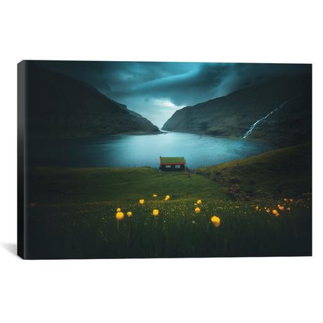 "Saksun - Faroe Islands (18""W x 12""H x 0.75""D)"