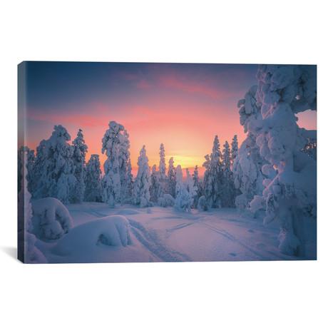"""Levi Lapland - Finland (18""""W x 12""""H x 0.75""""D)"""