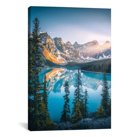 "Moraine Lake - Banff - Canada (12""W x 18""H x 0.75""D)"