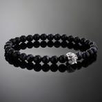 Spectre // Silver x Sardonyx Bracelet (S)