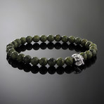 Spectre // Silver x Serpentine Bracelet (M)