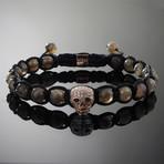 Wraith // Rose Gold x Labradorite Bracelet (L)