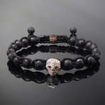 Wraith // Rose Gold x Lava Bracelet (S)