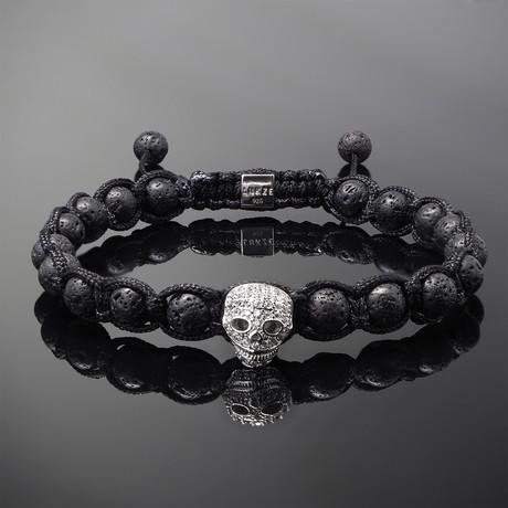 Wraith // Silver x Lava Bracelet (S)
