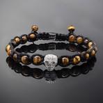 Wraith // Silver x Yellow Tiger's Eye Bracelet (L)