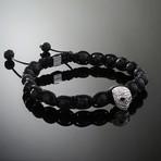 Wraith // Silver x Lava Bracelet (M)