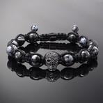 Revenant // Black x Obsidian Bracelet (S-M)