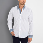 Isaac Button-Up Shirt // White (Small)