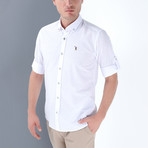 Joseph Button-Up Shirt // White (Small)