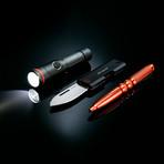Nano Torch Twist // Compact Flashlight // Black Aluminum