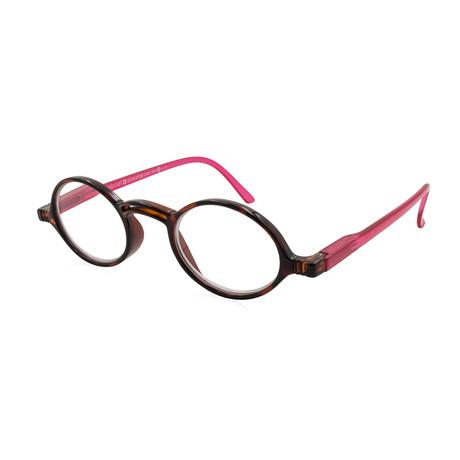 Men's Rond Readers // Tortoise + Pink (1)