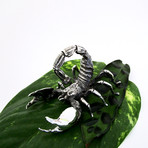 Scorpion Sculpture // Solid Sterling Silver