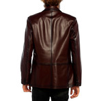 Mallard Leather Jacket // Tobacco (XS)