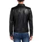 Eagle Leather Jacket // Black (3XL)