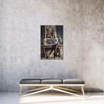 "Life Imitating Art // Paul Kelley (12""W x 18""H x 0.75""D)"