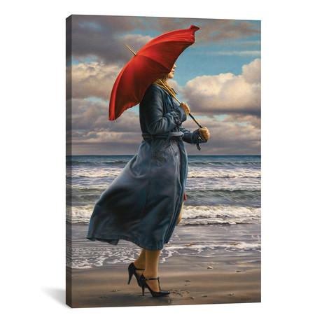 """Red Umbrella (12""""W x 18""""H x 0.75""""D)"""