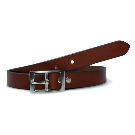 """Dress Belt // Brown (30"""")"""