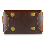 The Executive Card Case // Brown