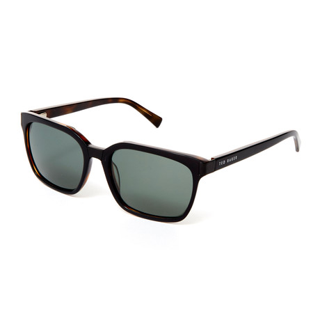 Luka Polarized Sunglasses // Black