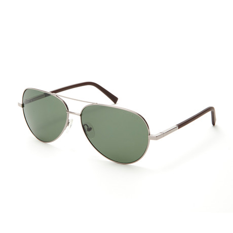 Casey Polarized Sunglasses // Gunmetal