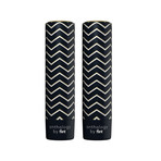 Flint Device Anthology Black Chevron // Set of 2