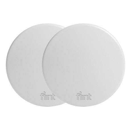Flint Hook Dry Wall // Ball // White // Set of 2