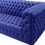 Isabella Collection // Velvet Tufted Sofa